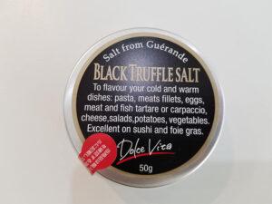 トリュフ塩・黒