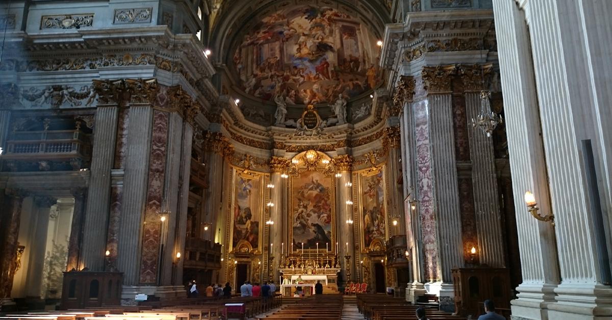 イタリア・ローマの教会