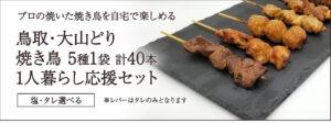 1人暮らし応援セット☆5種1袋×8袋の合計40本!もも串・ねぎま・つくね・カワ・レバー